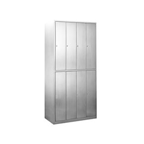 Eight-door Flat Top Cabinet with Lock