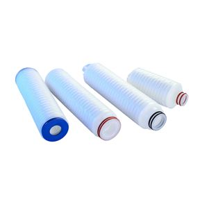 PP pleated filter element
